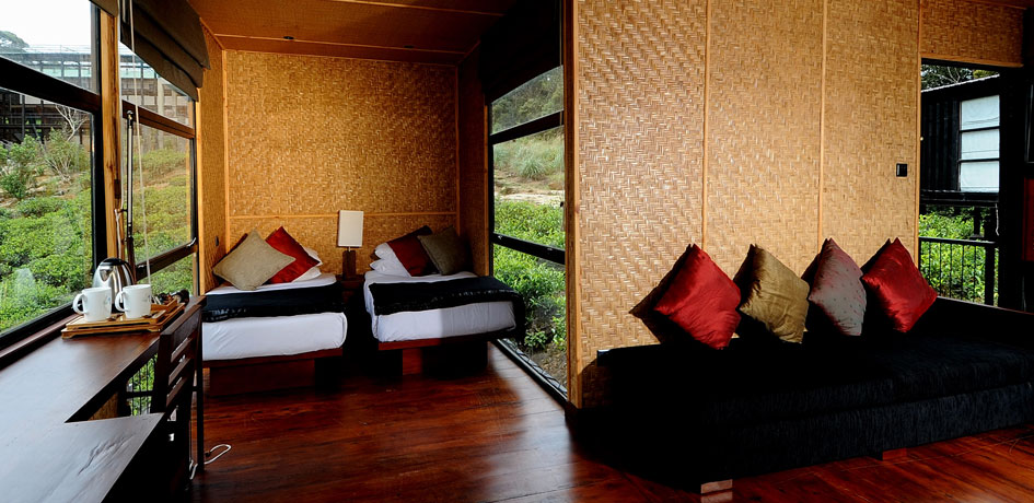 Luxurious chalets for guests to unwind