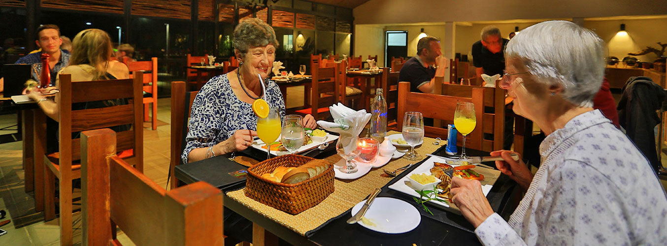 A dining experience to remember at the lodge