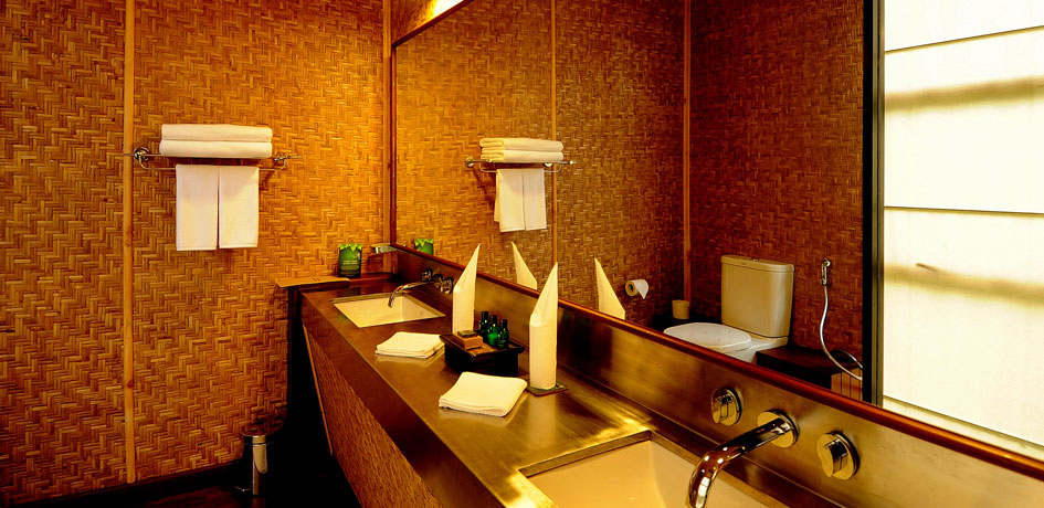 Hygenic Washroom facilities in the hotel