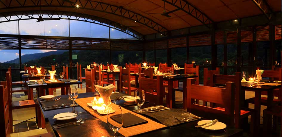 Dining location for all guests in the lodge