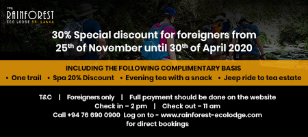 30% Discount for Foreigners